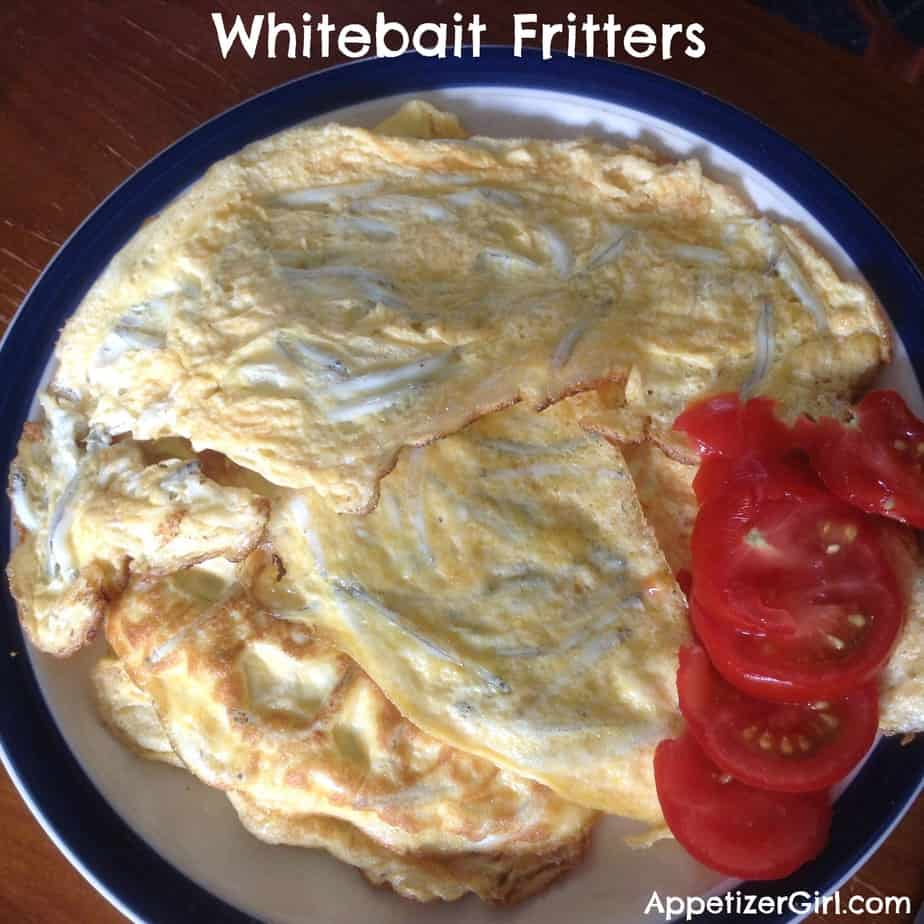 Whitebait Fritters With Tomatoes