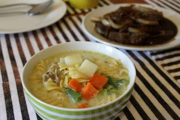 Chicken Soup Recipe with Fresh Vegetables