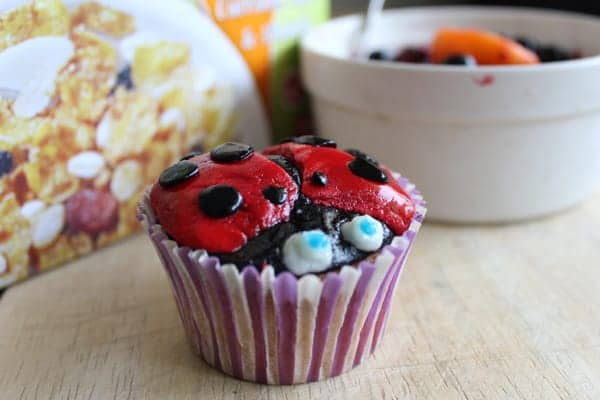 ladybirdcupcakeswithcereal5