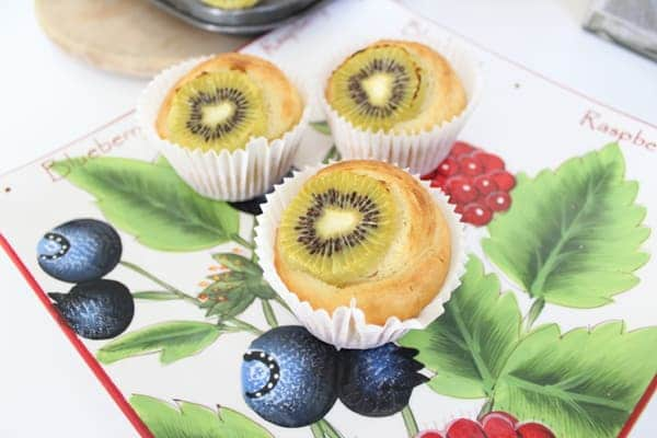 kiwi fruit muffin