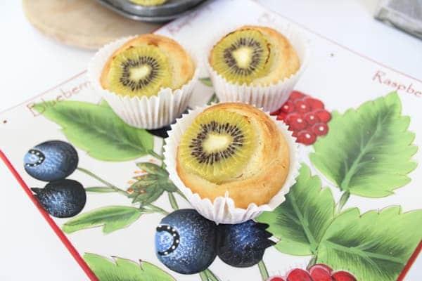 kiwi fruit muffin