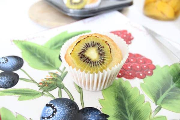 kiwifruit muffin