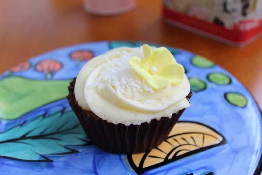 passion cupcake