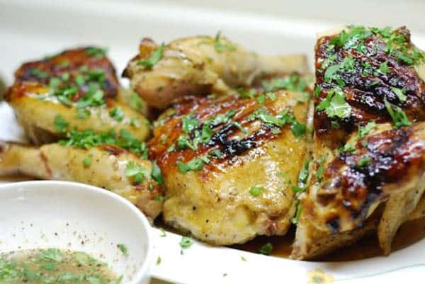 Easy Asian Chicken Recipe with Lime Dip