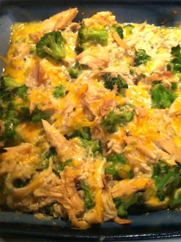 Easy Chicken Broccoli Casserole In Under 30 Minutes Only 5 ingredients!