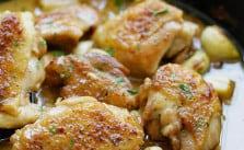 Easy Creamy Garlic Chicken Recipe