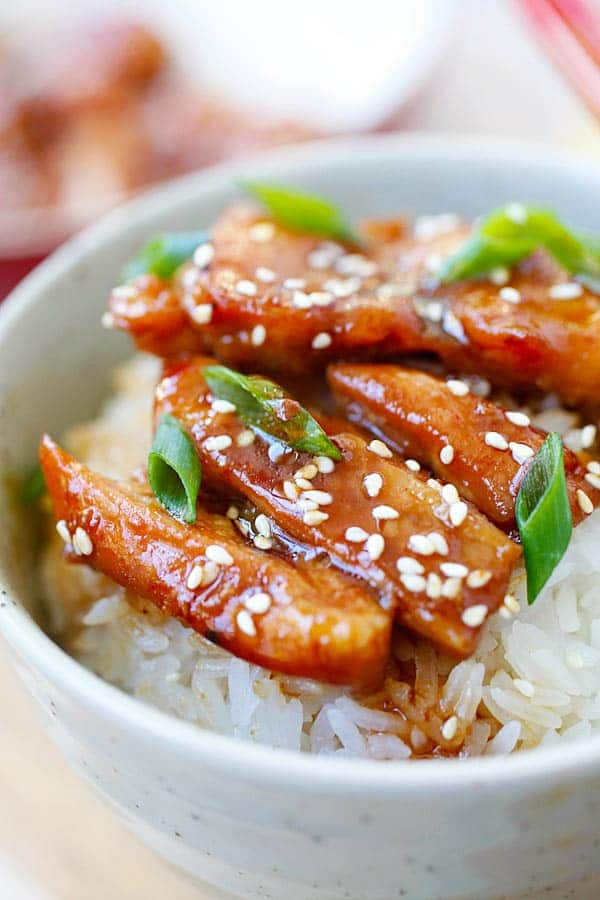 Easy Stir Fry Chicken Teriyaki Recipe 2