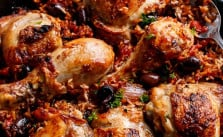 italian chicken and rice recipe in one pot