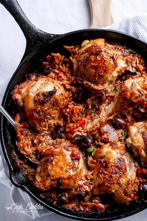 Italian Chicken And Rice Recipe In One Pot
