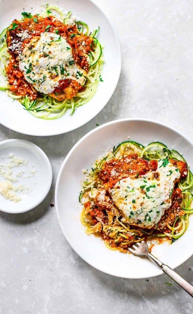 Healthy Chicken Parmesan Recipe in 20 Minutes