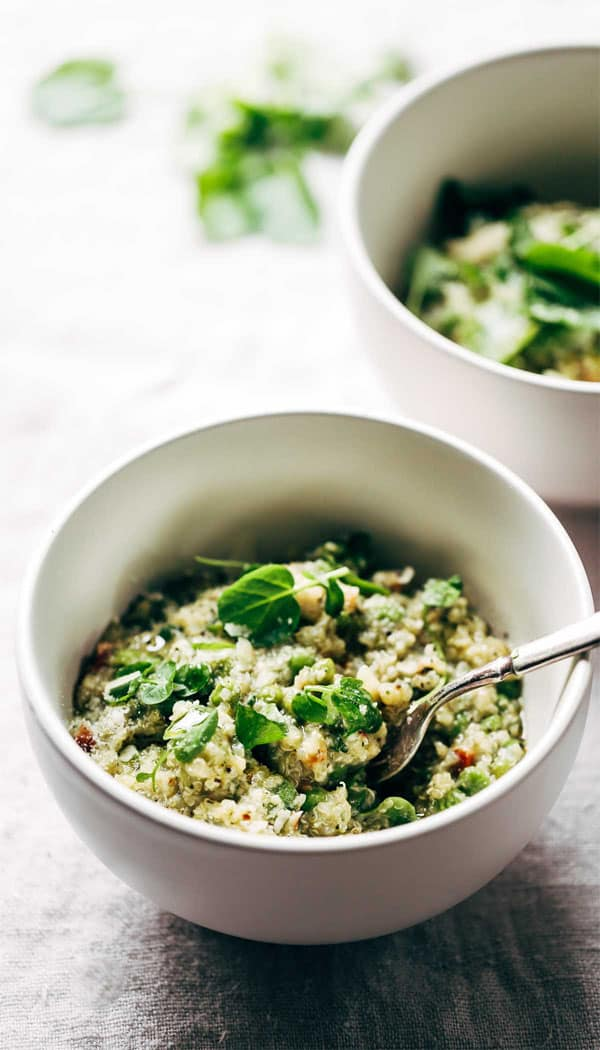 Crockpot Chicken Quinoa Primavera Recipe