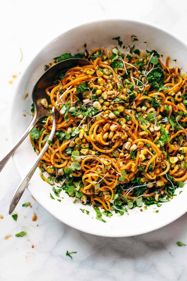 Sweet Potato Noodles Salad
