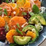 Citrus Fennel Salad with Avocado