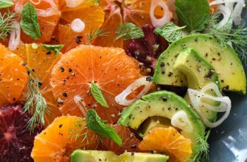 Citrus Fennel Salad with Avocado