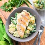 Grilled Chicken Green Bean Potato Salad