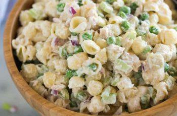 Pasta with Tuna Salad