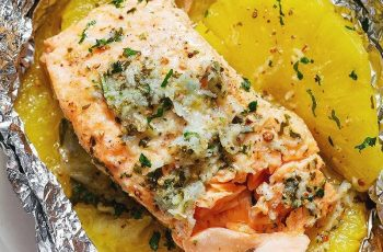 salmon with foil