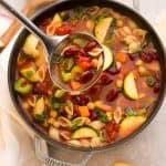 Minestrone-Soup Instant Pot