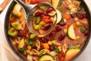 Minestrone-Soup Instant Pot