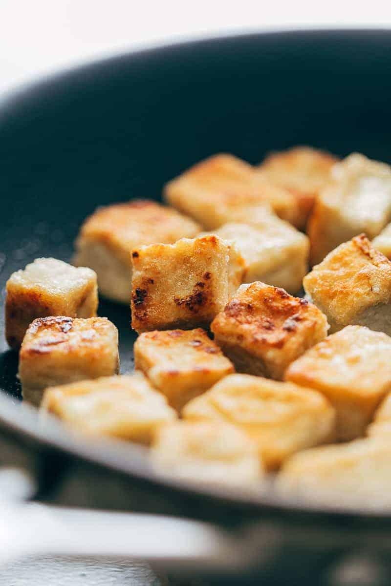 Crispy-Tofu Stir Fry