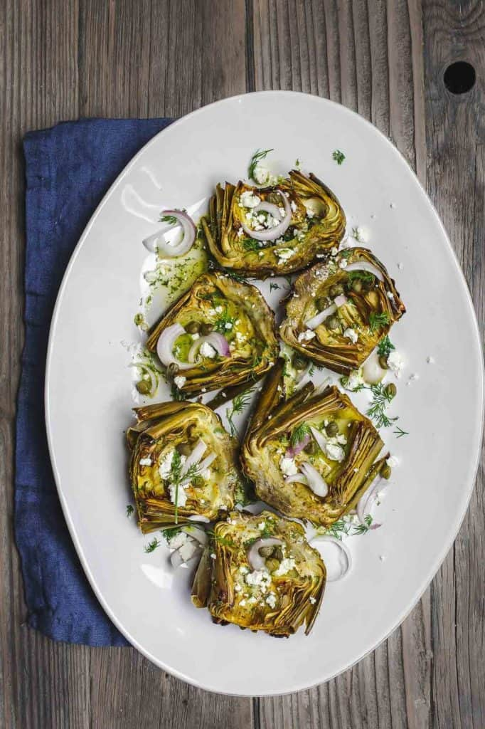 Roasted Artichokes Recipe (2)