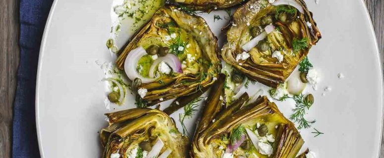 Roasted Artichokes Recipe (2)