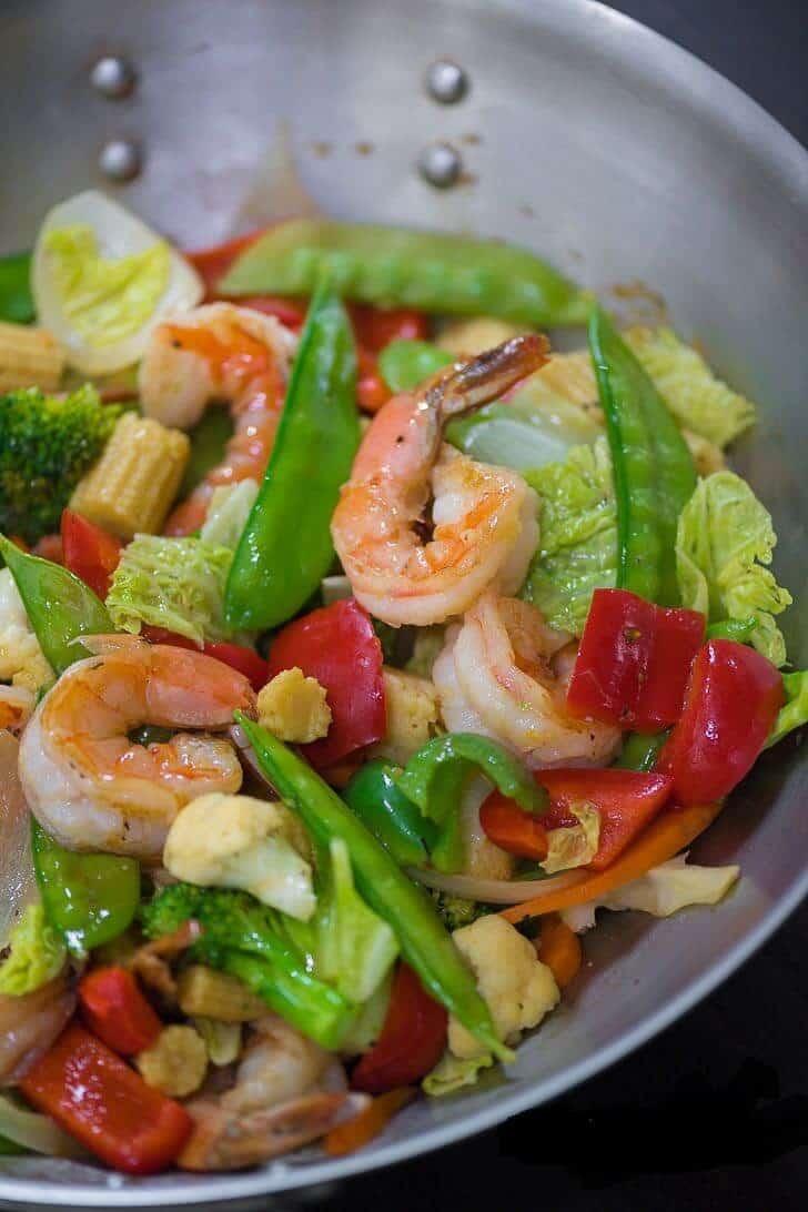 Stir-fry-Chop Suey