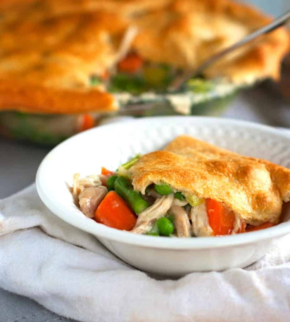 Vegetable Chicken Pot Pie 2