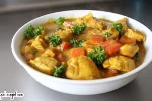Chicken Curry Filipino Style