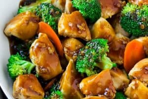 Healthy Chicken with Broccoli Stir-Fry