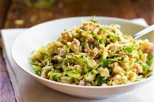 Chicken Brussels Sprout Salad Recipe