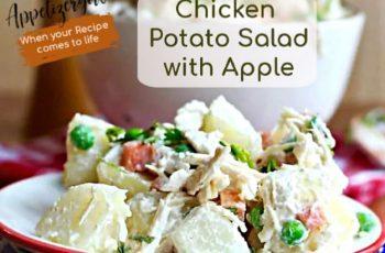 Chicken Potato Salad with Apple