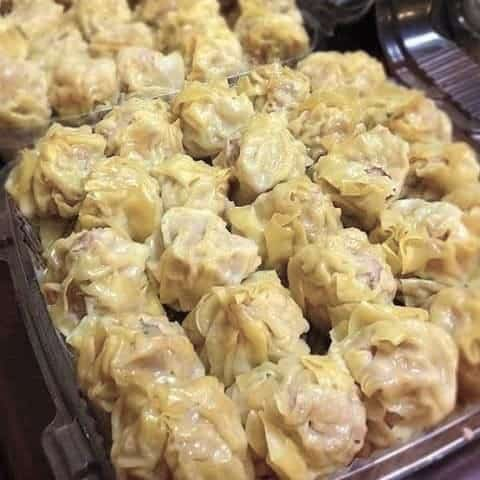 Chicken Shumai in a Steamer