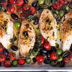 Chicken Tomato and Olives