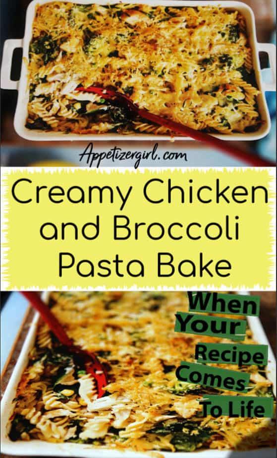 Chicken Pasta Bake with Veggies
