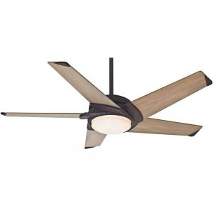 Casablanca Fan Co. Stealth Ceiling Fan in Industrial Rust, 54 in. D | Metal