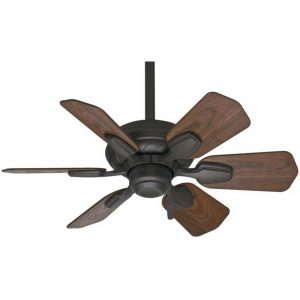 Casablanca Fan Co. Wailea Ceiling Fan in Brushed Cocoa, 31 in. D | Metal